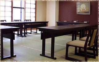 イステーブルでのご宴会もできます。(最大24名)